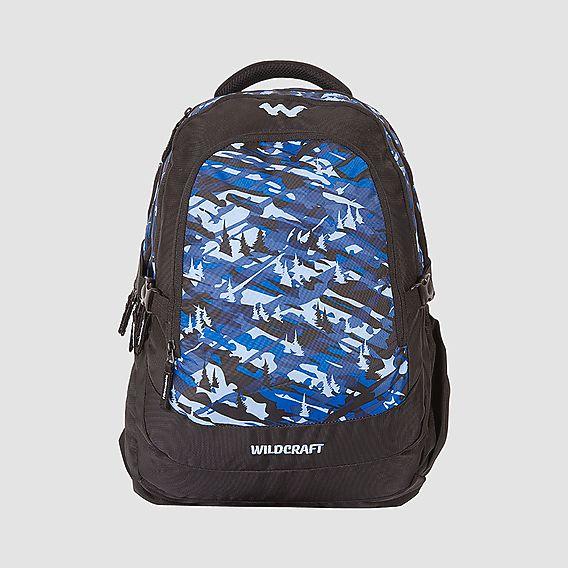 Buy Backpacks Online  Camo 4 Backpack Bag - Blue - Wildcraft 3260f1d8b0e5c