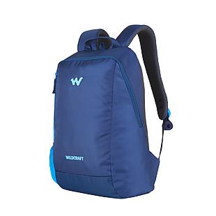 Wildcraft Streak Laptop Backpack With Internal Organizer - Blue