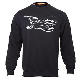 Wildcraft Men Sweatshirt Print - Camp - Black
