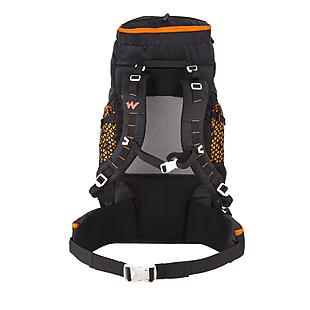Wildcraft Rucksack For Trekking Zephyr 50L - Black