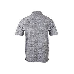 Wildcraft Men Hypacool Melange Polo Tee - Dark Grey Melange