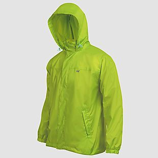 Wildcraft Hypadry Men Rain Jacket - Tender Shoots Green
