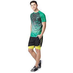 Wildcraft Men Poly Printed T-Shirt - Green