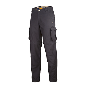 Wildcraft Men Convertible Pants - Black