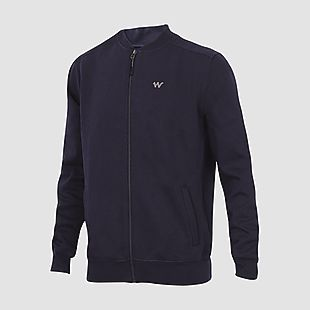 Wildcraft Men Zippered Sweatshirt For Winter - Blue