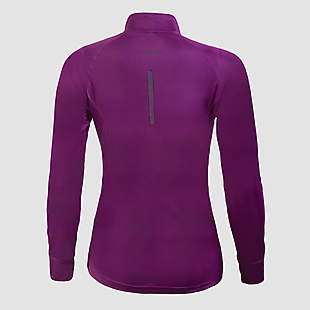 Wildcraft Women Hypacool Full Sleeve Hiking T Shirt - Purple