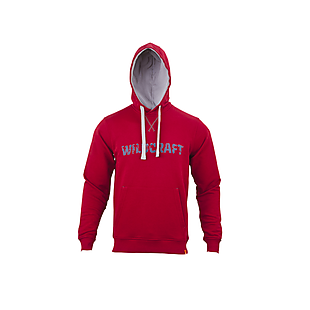Wildcraft Men Sweatshirt Hoodie Print - Maroon