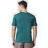 Wildcraft Men V Neck Crew T Shirt - Green Melange